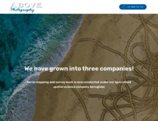 abovephotography.com.au screenshot
