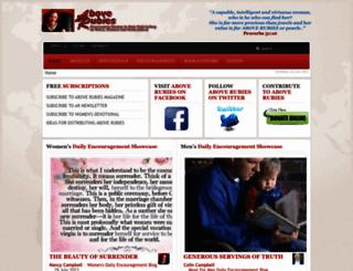aboverubies.org screenshot