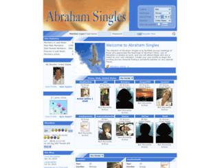 abrahamsingles.com screenshot