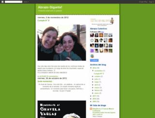abrazogigante.blogspot.com screenshot