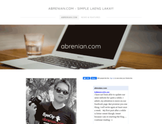 abrenian.com screenshot