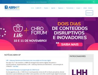 abrhsp.org.br screenshot
