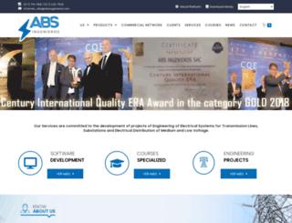 absingenieros.com screenshot