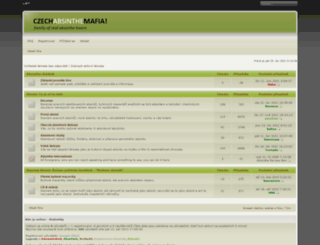 absinthemafia.com screenshot