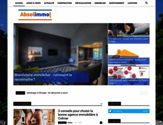 absolimmo.com screenshot