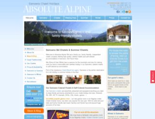 absolutealpine.co.uk screenshot