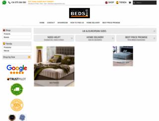 absolutebeds.com screenshot
