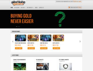 absolutegamers.com screenshot
