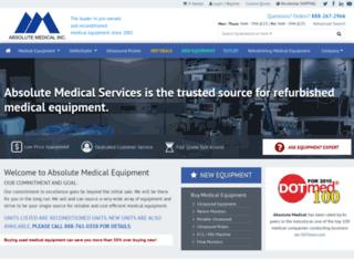 absolutemed.com screenshot