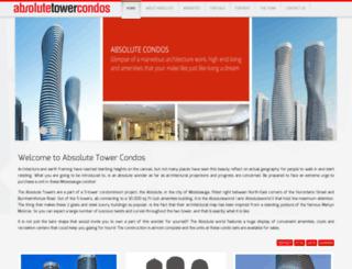 absolutetowercondos.com screenshot