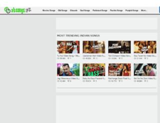 absongs.pk screenshot