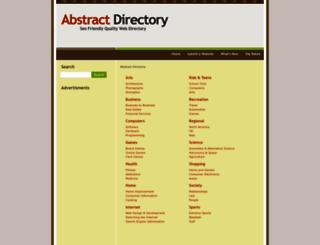 abstractdirectory.com screenshot