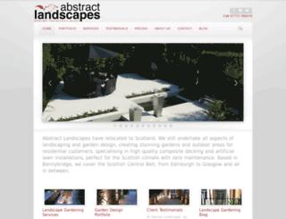 abstractlandscapes.co.uk screenshot