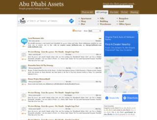 abudhabiasset.com screenshot