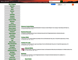 abudhabiclassify.com screenshot