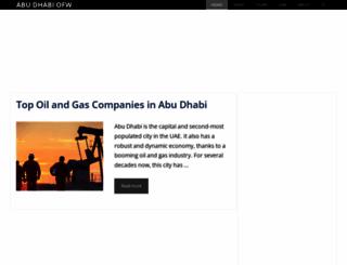 abudhabiofw.com screenshot