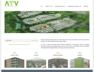 abujatechnologyvillage.com screenshot