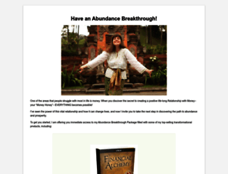 abundance.morganarae.com screenshot