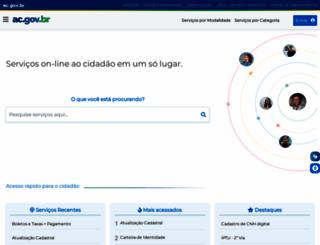 ac.gov.br screenshot