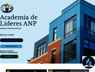 academiadelideresanp.com screenshot