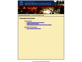 academic.lamission.edu screenshot