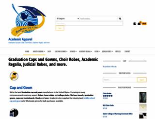 academicapparel.com screenshot
