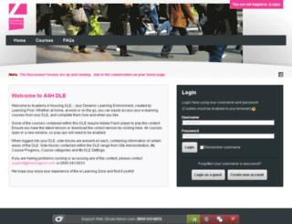 academy4housing.learningpool.com screenshot