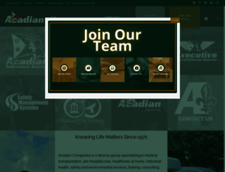 acadian.com screenshot