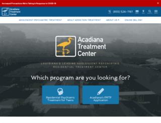acadianaaddiction.com screenshot