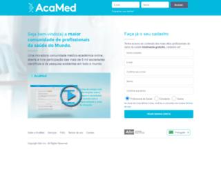 acamed.com.br screenshot