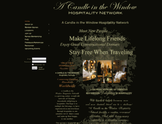 acandleinthewindow.com screenshot