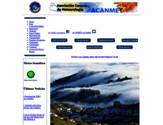 acanmet.org screenshot