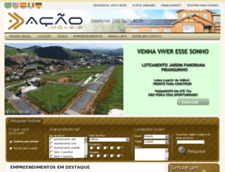 acaoimoveisitajuba.com.br screenshot