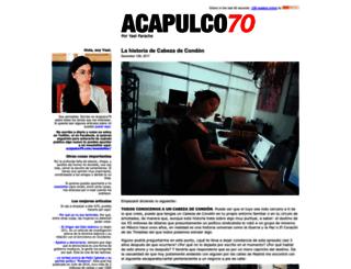 acapulco70.com screenshot