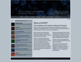 acarp.com.au screenshot