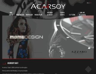 acarsoysaat.com screenshot