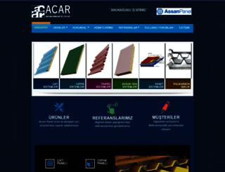 acaryapi.com screenshot