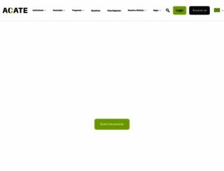 acate.com.br screenshot