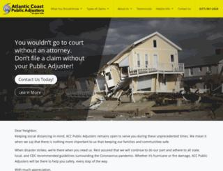 accadjusters.com screenshot