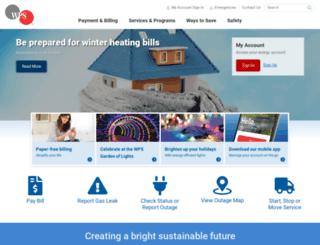 accel.wisconsinpublicservice.com screenshot