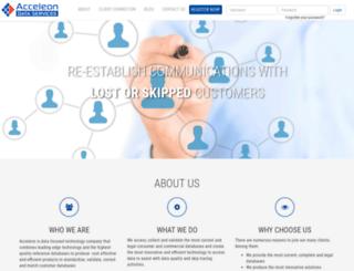 acceleon.com screenshot