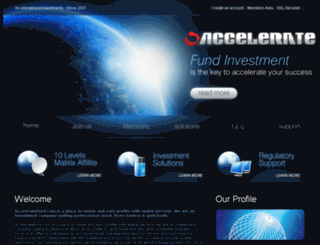 acceleratefund.com screenshot