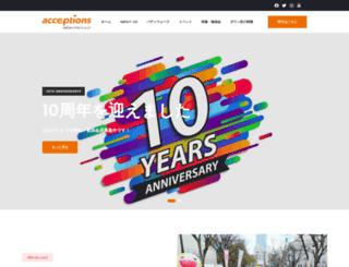 acceptions.org screenshot