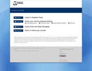 access.tasconline.com screenshot