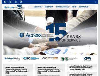 accessbank.co.tz screenshot