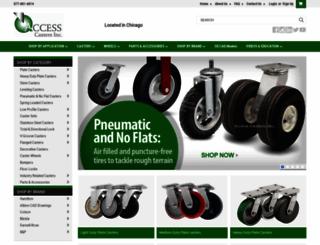 accesscasters.com screenshot