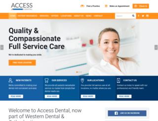accessdental.com screenshot