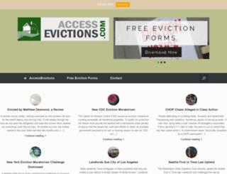 accessevictions.com screenshot