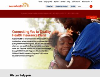 accesshealthct.com screenshot