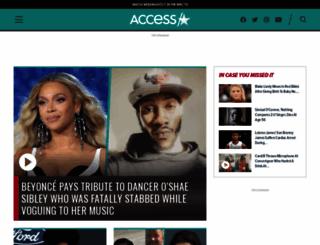 accesshollywood.com screenshot
